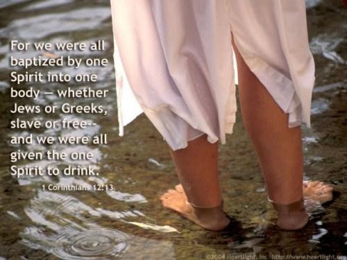 1 Corinthians12:13 Image