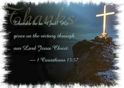 1 Corinthians 15:57 Image