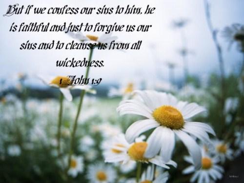 1 John 1:9 Image