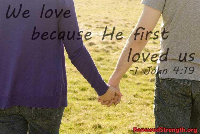 1 John 4:19 Image