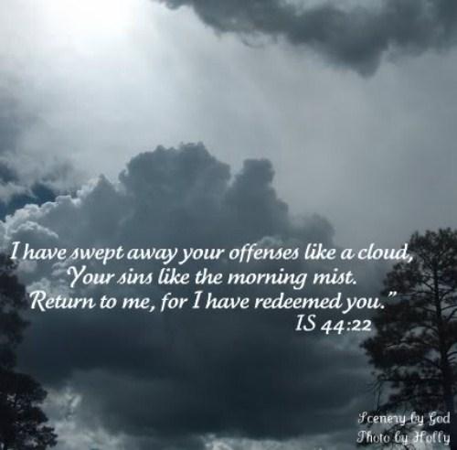 Isaiah 44:22